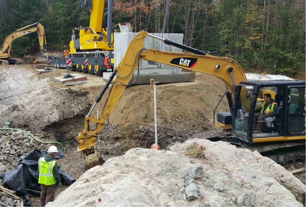 Dam and Pond Construction in NH